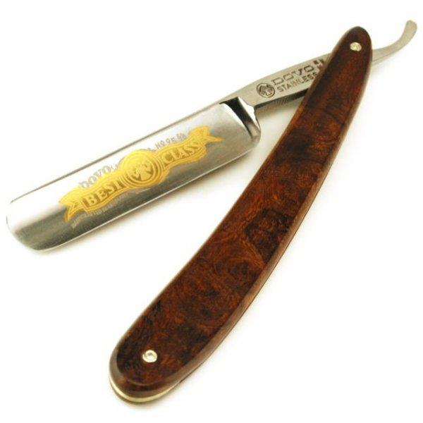 Břitva DOVO Solingen 95 5835 R - pouštní dřevo