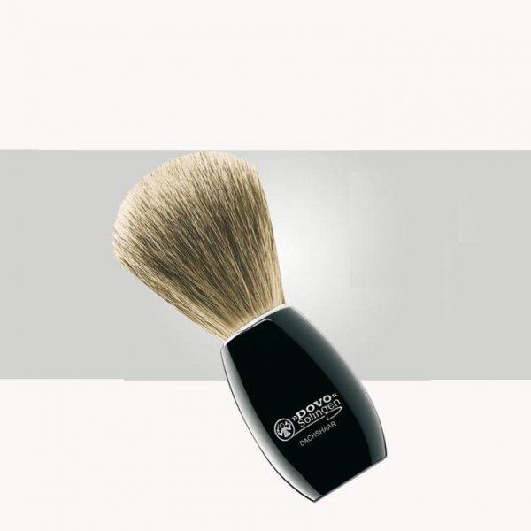 luxusní štětka na holení jezevec 3