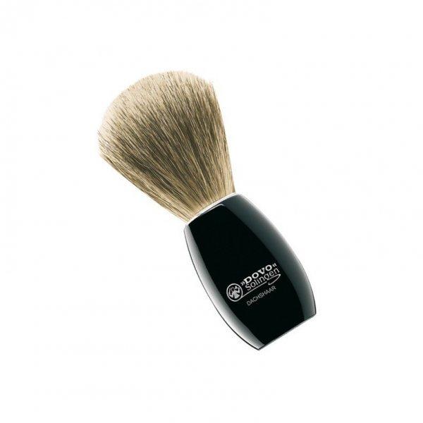 luxusní štětka na holení jezevec 1