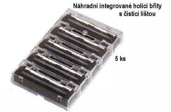 Náhradní integrované břity s čistící lištou MERKUR