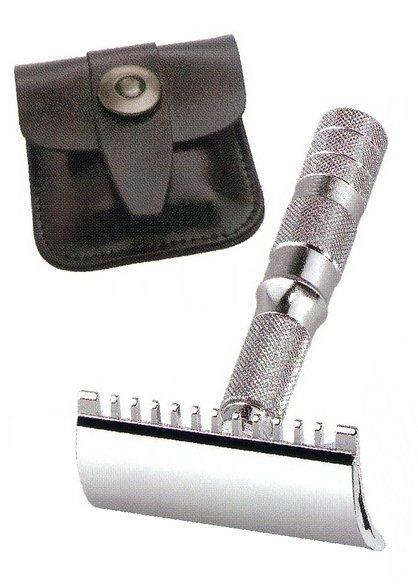 Cestovní holicí strojek MERKUR Solingen 985 000 - Straight Cut