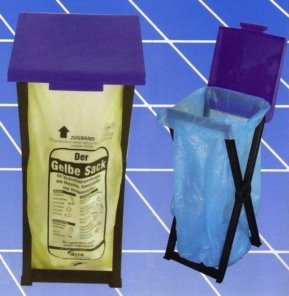Stojan skládací plastový RIVAL  560 000 na odpadkové pytle 1