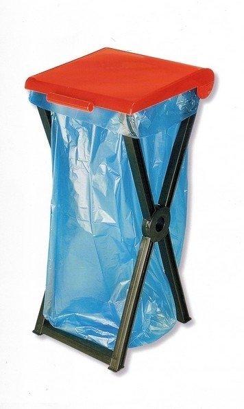 Stojan skládací plastový RIVAL  560 000 na odpadkové pytle 3