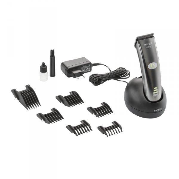 Profesionální střihací strojek na vlasy MOSER 1884-0050 Li + Pro 4