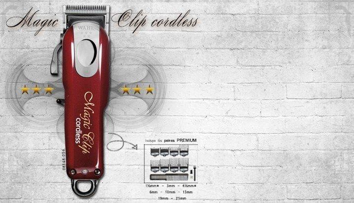 Profesionální strojek na vlasy Wahl Cordless Magic Clip 08148-016 5