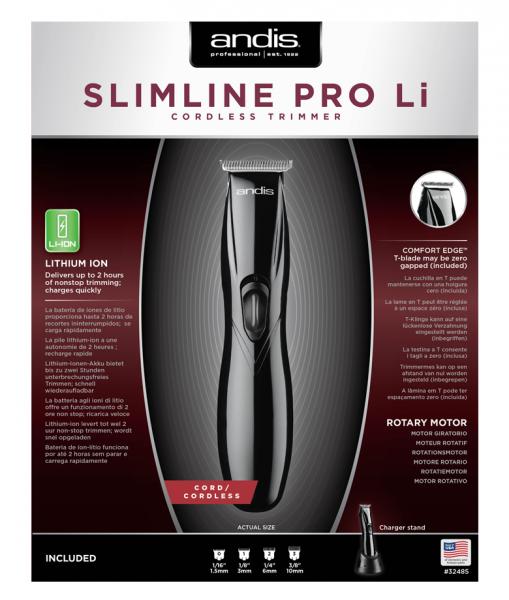 střihací strojek Andis Slimline Pro Li T-Blade 3