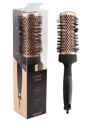 Kartáč na vlasy Ceramic Curler Turmalin & Ionic 43 mm