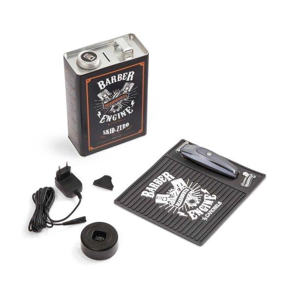 Beardburys Skid Zero + plechový box a barber podložka 5