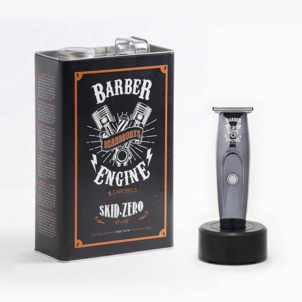 Beardburys Skid Zero + plechový box a barber podložka 3