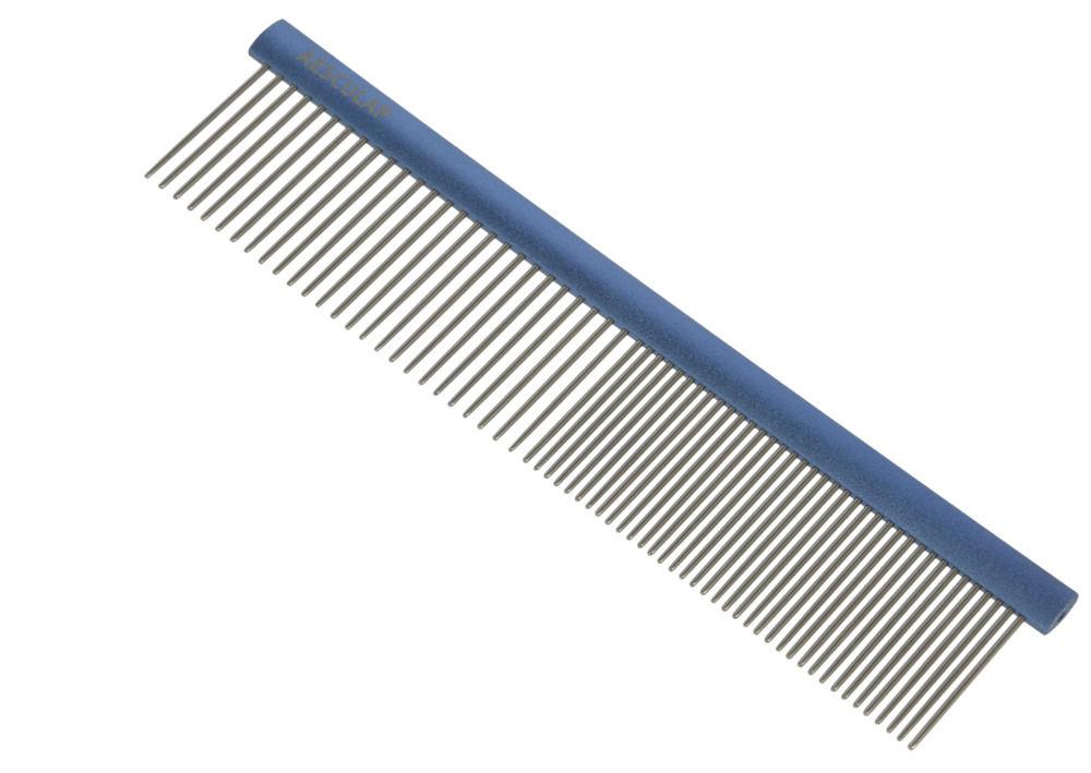 AESCULAP hřeben na srst Aluminium - střední 1